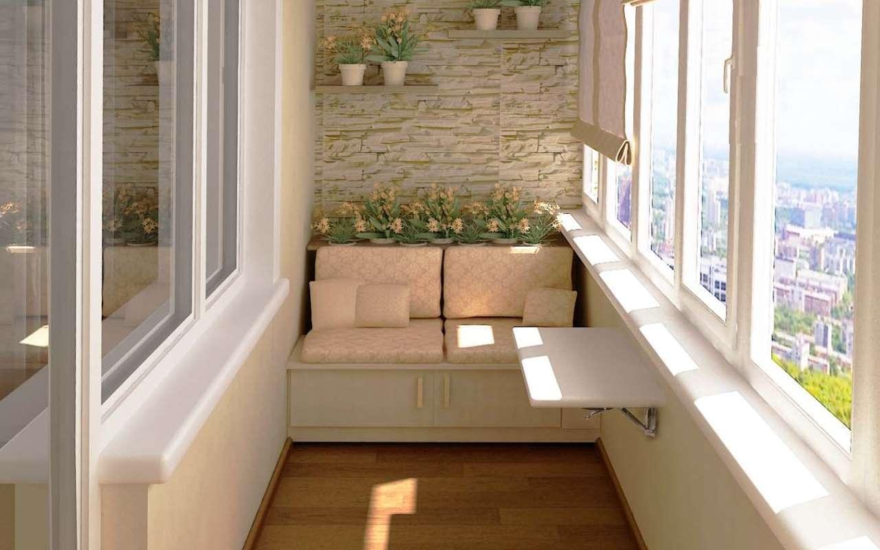 Лучшие идеи для дизайна маленьких балконов.